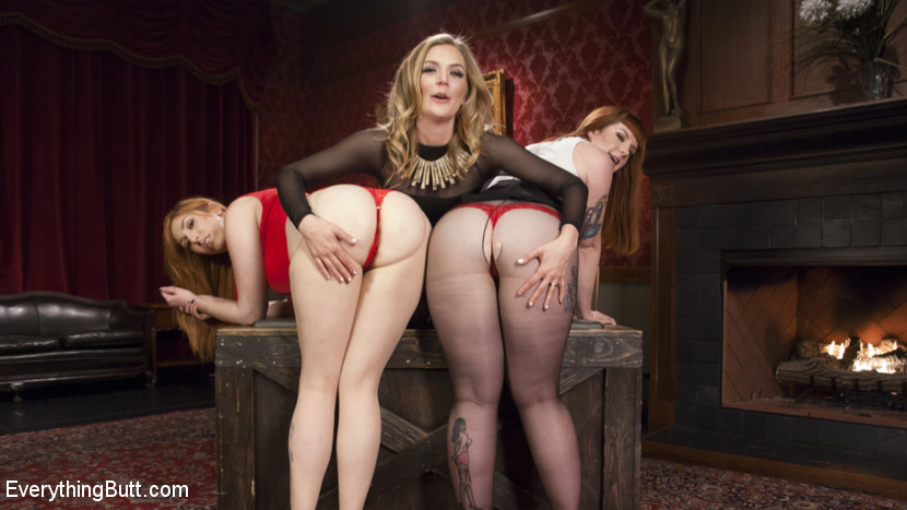 Mona Wales , Barbary Rose , Lauren Phillips gaping assholes #5