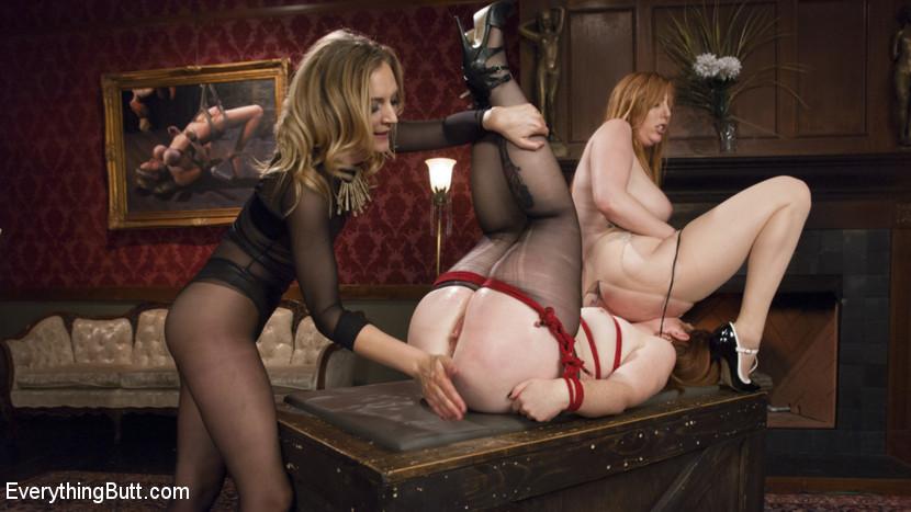 Mona Wales , Barbary Rose , Lauren Phillips gaping assholes #4