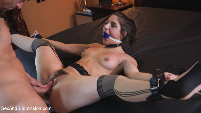 submissive sex toy abella danger used and abused anally in most flexible ways #2