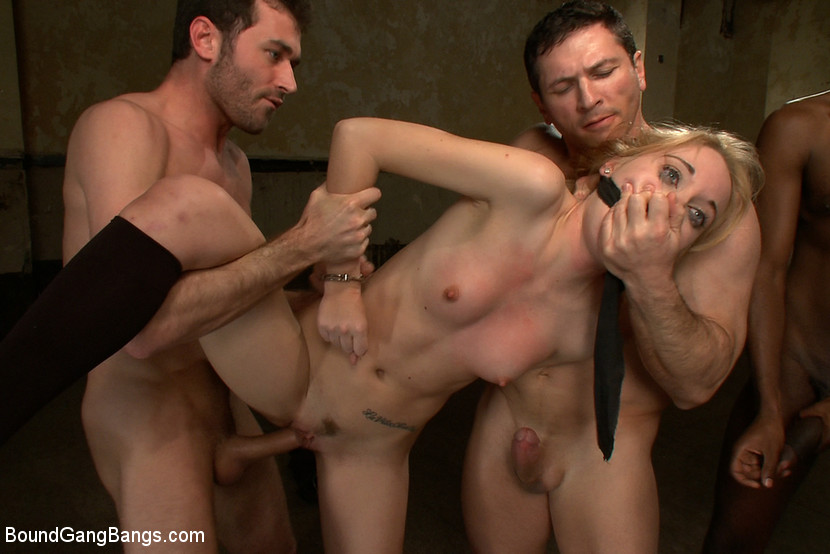 tiny petite cheerleader gets blowbanged and anally invaded by a group of coaches #6