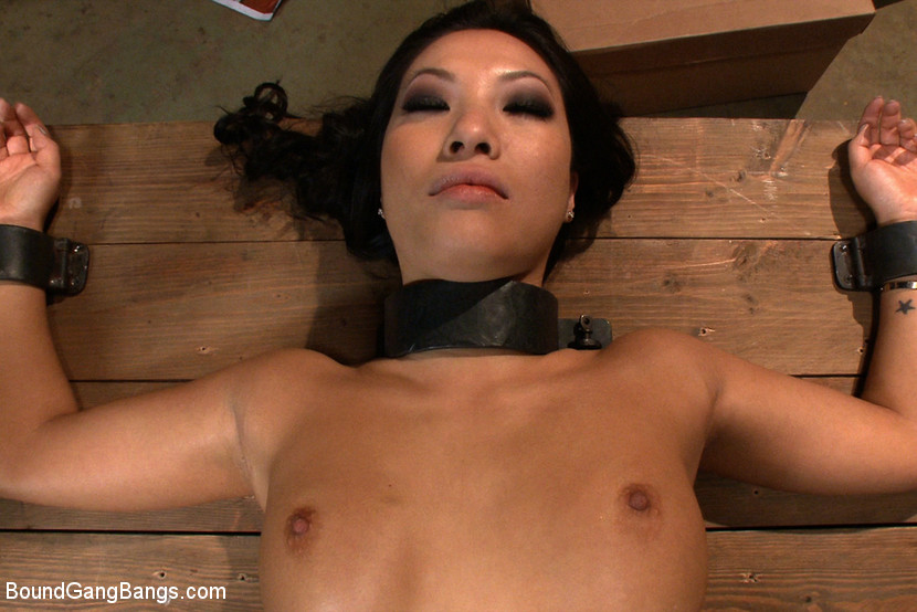 painful anal group bang for asian cutie asa akira #4
