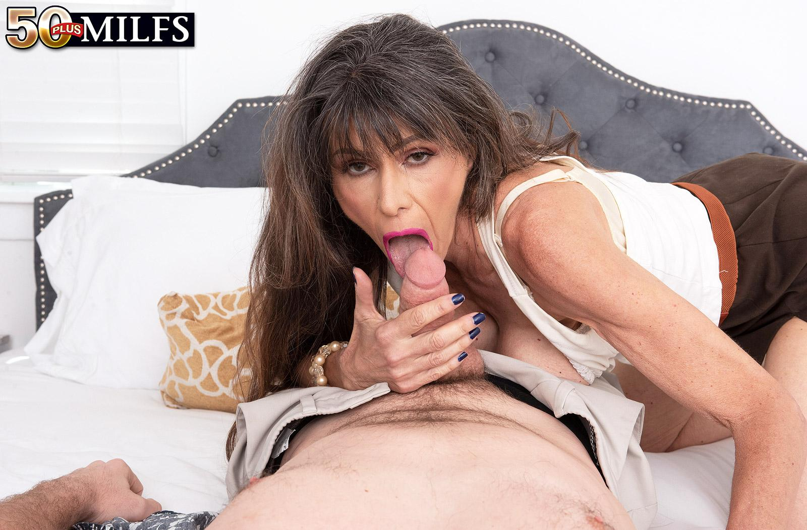 skinny, slightly scrawny and athletic older women  demands hard anal from her young admire picture 15