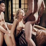po's millionaire's wife Zoey Monroe gets banged by her drug dealer and his buddy anal picture 14