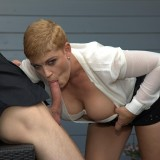 Remarkable new anal conquest - old mother-in-law sacrifices her great fortune for young son-in-law picture 9