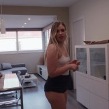 broke italian student girl pays landlord with anal experience picture 3
